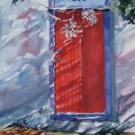 """The Red Door""  26x20  SOLD"