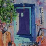 """Still Life with Blue Door""  36x28"