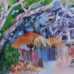 """Bucerias Tree House""  20x26"