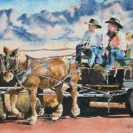 """Wagon Ride""   SOLD"