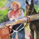 """The Hitching Post""   SOLD"