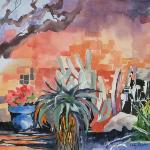 """Sunny Morning at Tanque Verde Ranch""  22x28  SOLD"