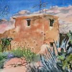 """Little Chapel at DeGrazia"" - SOLD"